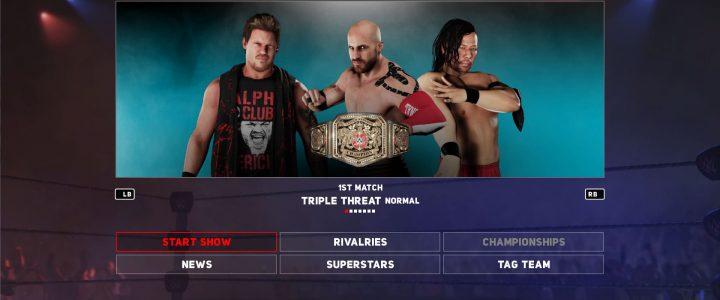 เกมส์มวยปล้ำ WWE 2K