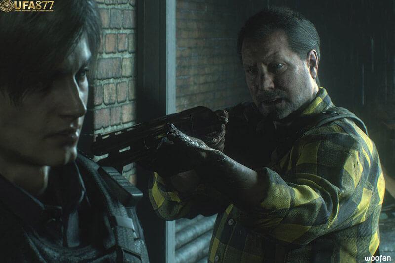 Resident Evil 2 Plot Leon
